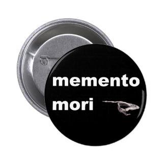 memento mori 2 inch round button