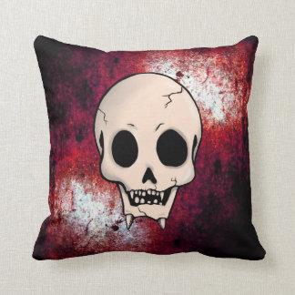 Memento Mori Demon Skull Pillow