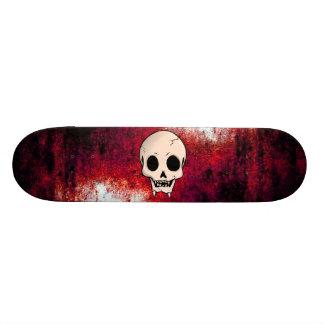 Memento Mori Demon Skull Skateboard Deck