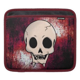 Memento Mori Demon Skull Sleeve For iPads