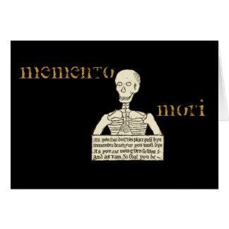 Memento Mori Greeting Cards