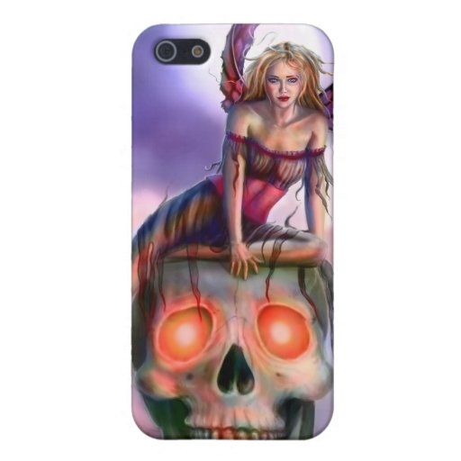 """""""Memento Mori"""" iPhone Case Covers For iPhone 5"""