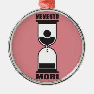 Memento Mori Metal Ornament