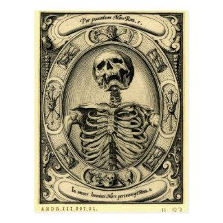 Memento Mori Post Card