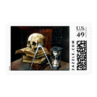 Memento mori postage