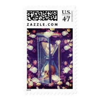 Memento Mori Postage Stamp