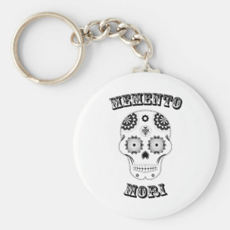 Memento mori Sugar Skull Key Chain