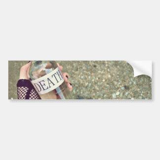 Memento Vivere Bumper Sticker