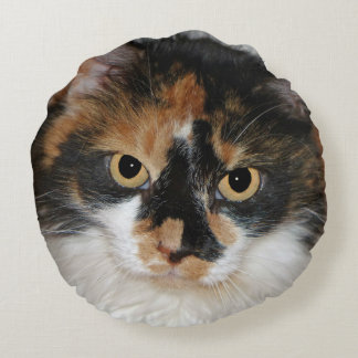 MeMeow Round Pillow