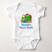 Memere's Beach Buddy Baby Bodysuit