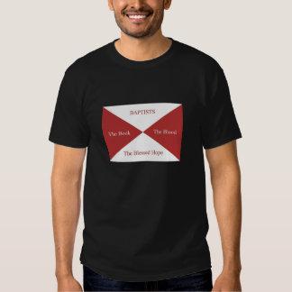 Memes baptista: Bandera baptista Polera