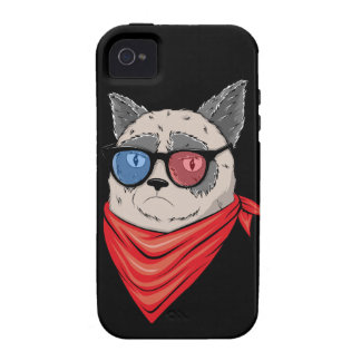 Memes-House- cat iPhone 4 Cases