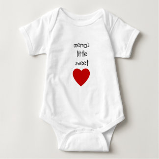 Meme's Little Sweet Heart T-shirt