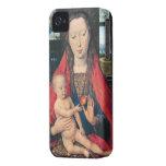 Memling - la Virgen y el niño; 1487 iPhone 4 Case-Mate Cobertura