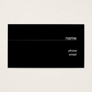 Memo Business Card