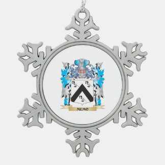 Memo Coat of Arms - Family Crest Ornaments