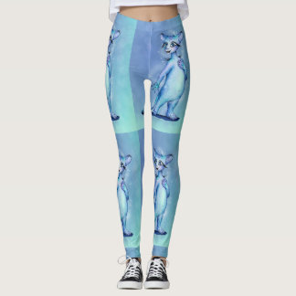 MEMO CUTE ALIEN CAT CARTOON Leggings