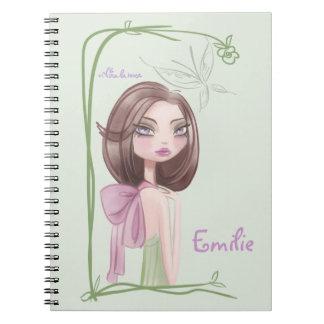 Memo pad, for girl notebook