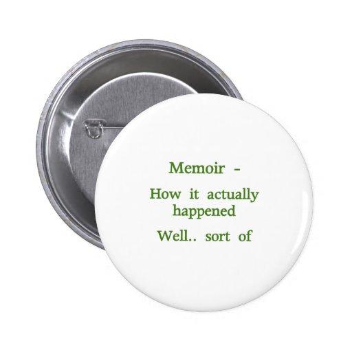 Memoir How it happened - Green Buttons