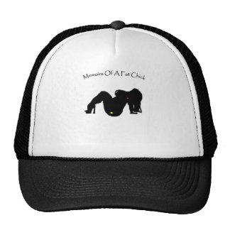 Memoirs Of A Fat Chick Trucker Hat