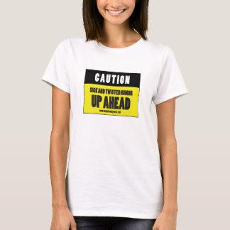 MEMOIRS OF A GYM RAT - CAUTION sign T-Shirt
