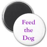 "MemoMag ""Feed the Dog"" Refrigerator Magnet"