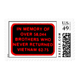 Memor of Brothers Who Never Returned - Vietnam Postage