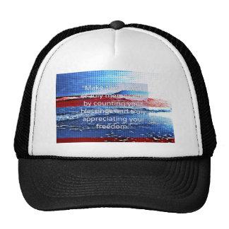 Memorable 4th of July Trucker Hat