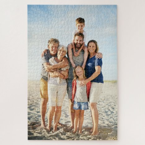 """Memorable Family's 20"""" x 30"""" Jigsaw Puzzle"""