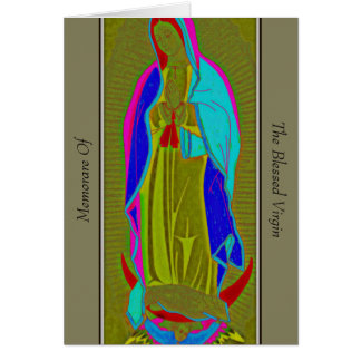 Memorare Of The Blessed Virgin Card