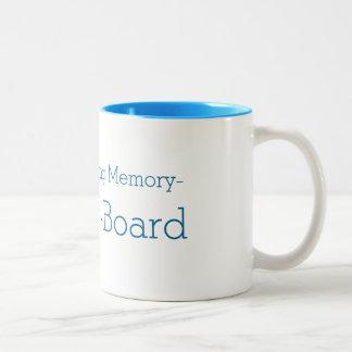 Memoria cariñosa del armario taza de café de 11
