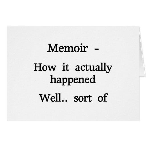 Memoria cómo sucedió tarjetón