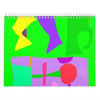 Memoria de la familia del juego del ruido del calendarios