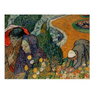 Memoria del jardín en Etten, bella arte de Van Tarjeta Postal