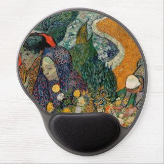 Memoria del jardín en Etten de Vincent van Gogh Alfombrilla Con Gel