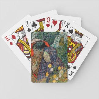 Memoria del jardín en Etten de Vincent van Gogh Baraja De Póquer