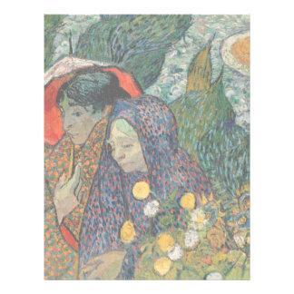 Memoria del jardín en Etten de Vincent van Gogh Tarjetas Publicitarias
