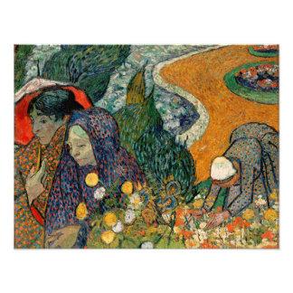 Memoria del jardín en Etten de Vincent van Gogh Impresion Fotografica