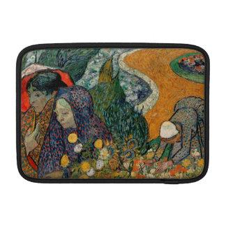 Memoria del jardín en Etten de Vincent van Gogh Funda Para Macbook Air