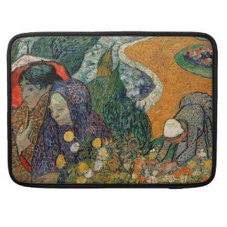 Memoria del jardín en Etten de Vincent van Gogh Funda Para Macbook Pro