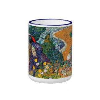 Memoria del jardín en Etten Vincent van Gogh Taza De Dos Colores