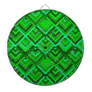 memoria formada de los años 60, verde tabla dardos