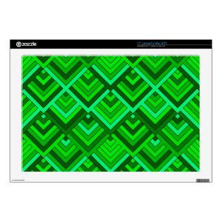 memoria formada de los años 60, verde portátil skins