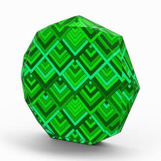 memoria formada de los años 60, verde