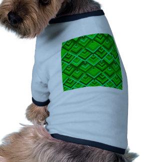 memoria formada de los años 60, verde camisa de mascota