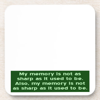 Memoria no aguda posavaso