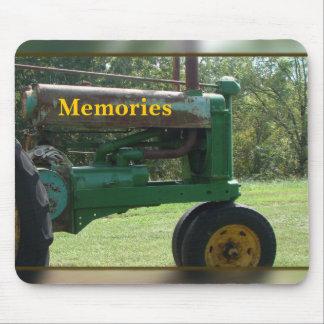 memoria-personalizar del tractor mousepad