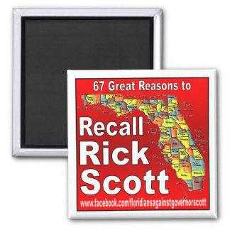Memoria Rick Scott Imán Cuadrado