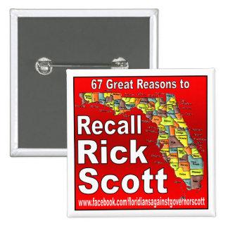 Memoria Rick Scott Pins