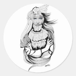 Memoria Sagrada - Sacred Memory Round Sticker